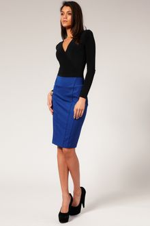 ASOS Collection Asos Tailored High Waist Seamed Pencil Skirt - Lyst
