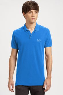 Marc By Marc Jacobs Logo Polo - Lyst