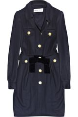 See By Chloé Wool-blend Coat - Lyst