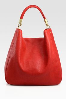 Yves Saint Laurent Ysl Large Leather Roady Hobo - Lyst