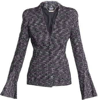 Alexander McQueen Fancy Boucle Tweed Jacket - Lyst