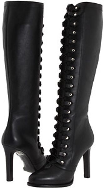 Alexander McQueen Lace Up Boot - Lyst