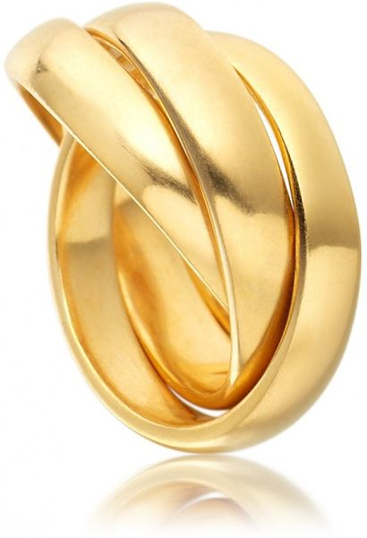 Astley Clarke Russian Wedding Band in Gold (yellow) - Lyst