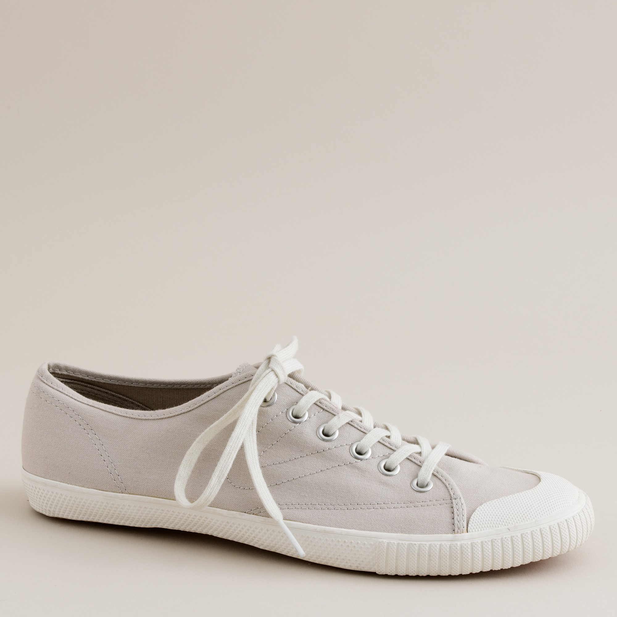 the best attitude db819 57a68 J.Crew Tretorn Canvas T56 Sneakers in Gray - Lyst