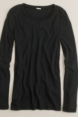 J.Crew Tissue Long-sleeve Tee - Lyst
