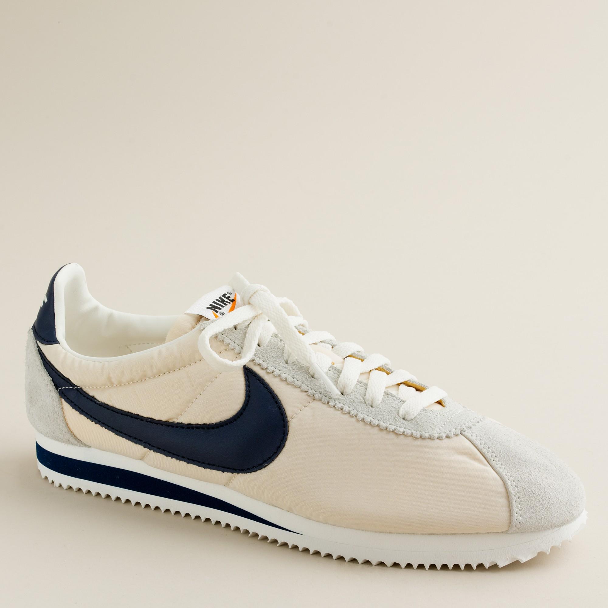 newest 535ac 7e3b6 reduced nike cortez basic men vintage shoes c370145 black white 05daa  5e873  best price lyst j.crew nike for j.crew vintage collection cortez  sneakers b541e