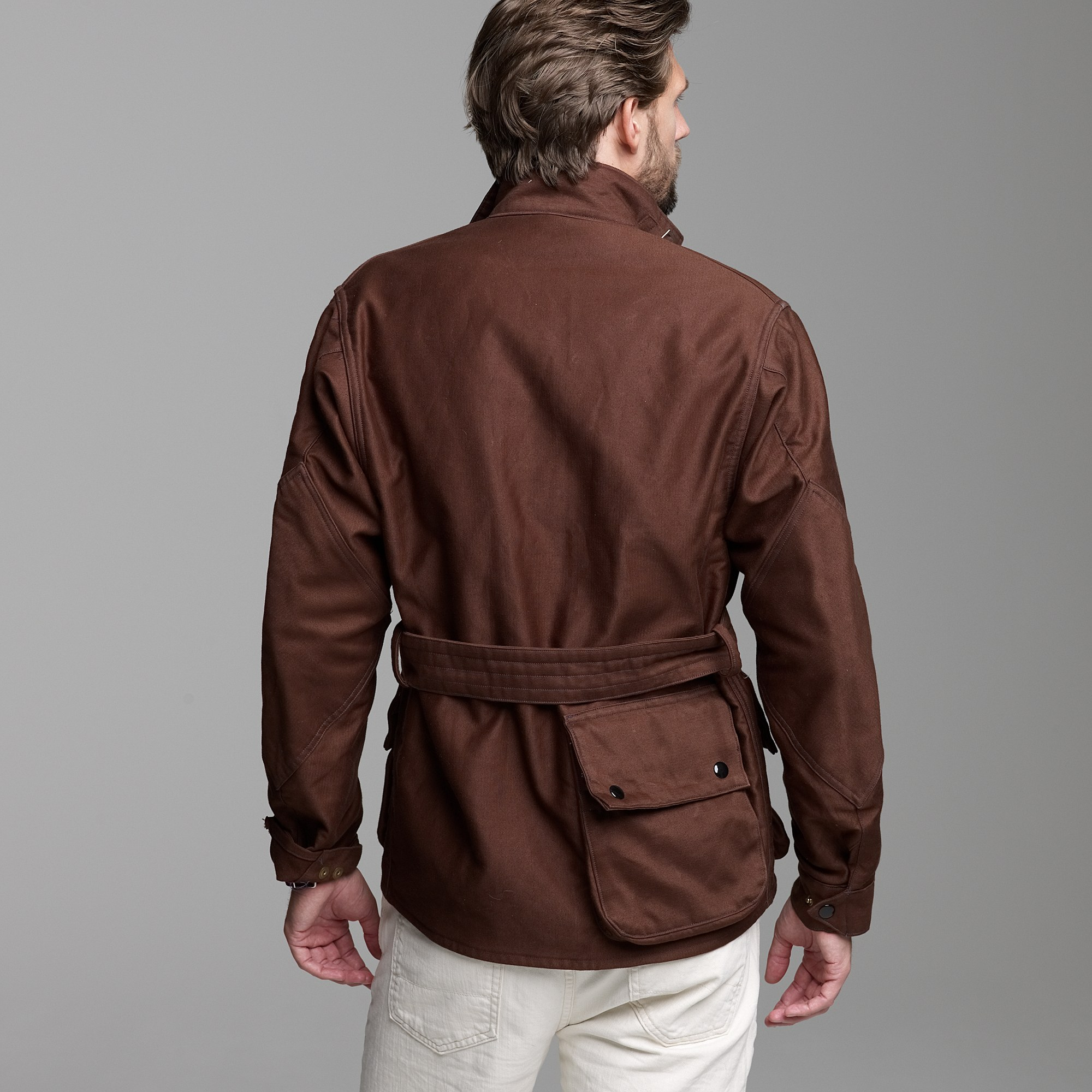 J Crew Mister Freedom 174 Mulholland Master Jacket In Brown