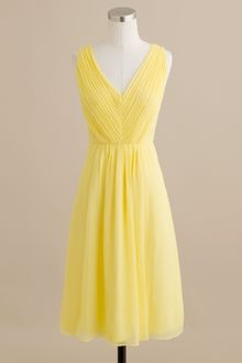 J.Crew Louisa Dress in Silk Chiffon - Lyst