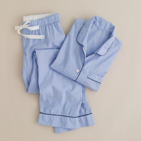 J.crew Vintage Pajama Set in Blue (hydrangea) - Lyst