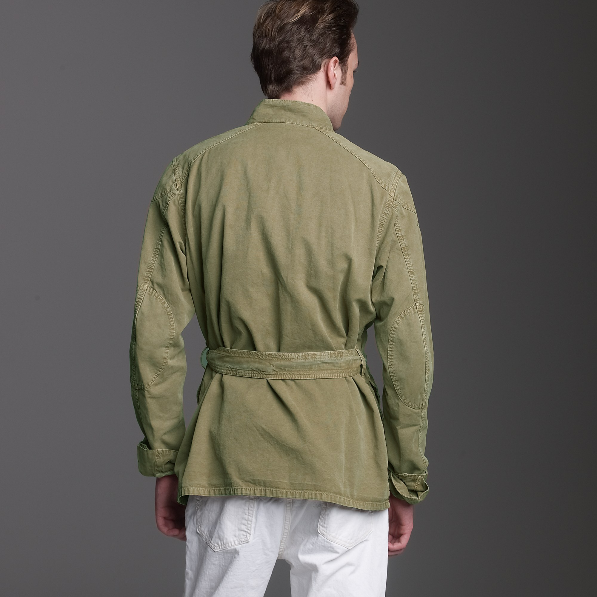 J.crew Belstaff® Lawrence Replica Jacket in Green for Men | Lyst
