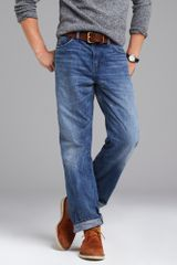 J.Crew Relaxed-fit Jean in Light Indigo Wash - Lyst
