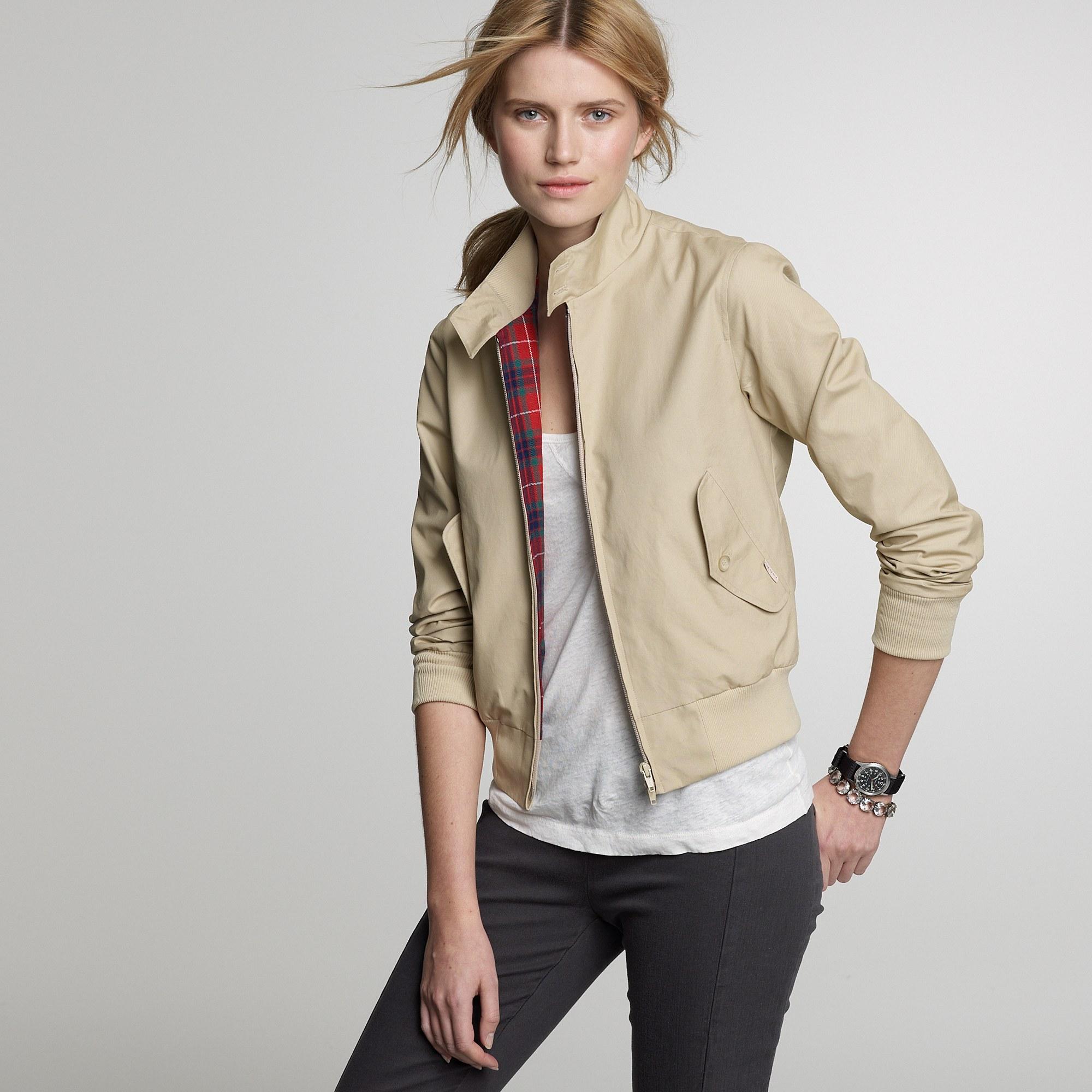 Lyst - J.Crew Baracuta® G10 Slim-fit Jacket in Natural d9b38288e7