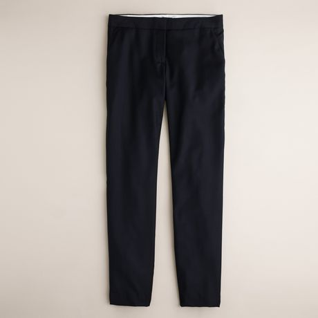 J.crew Paley Pant in Super 120s in Blue (navy) - Lyst