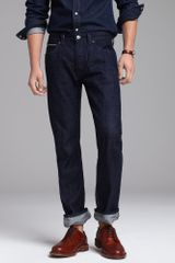 J.Crew Vintage Slim-fit Jean in Resin Crinkle Selvedge - Lyst
