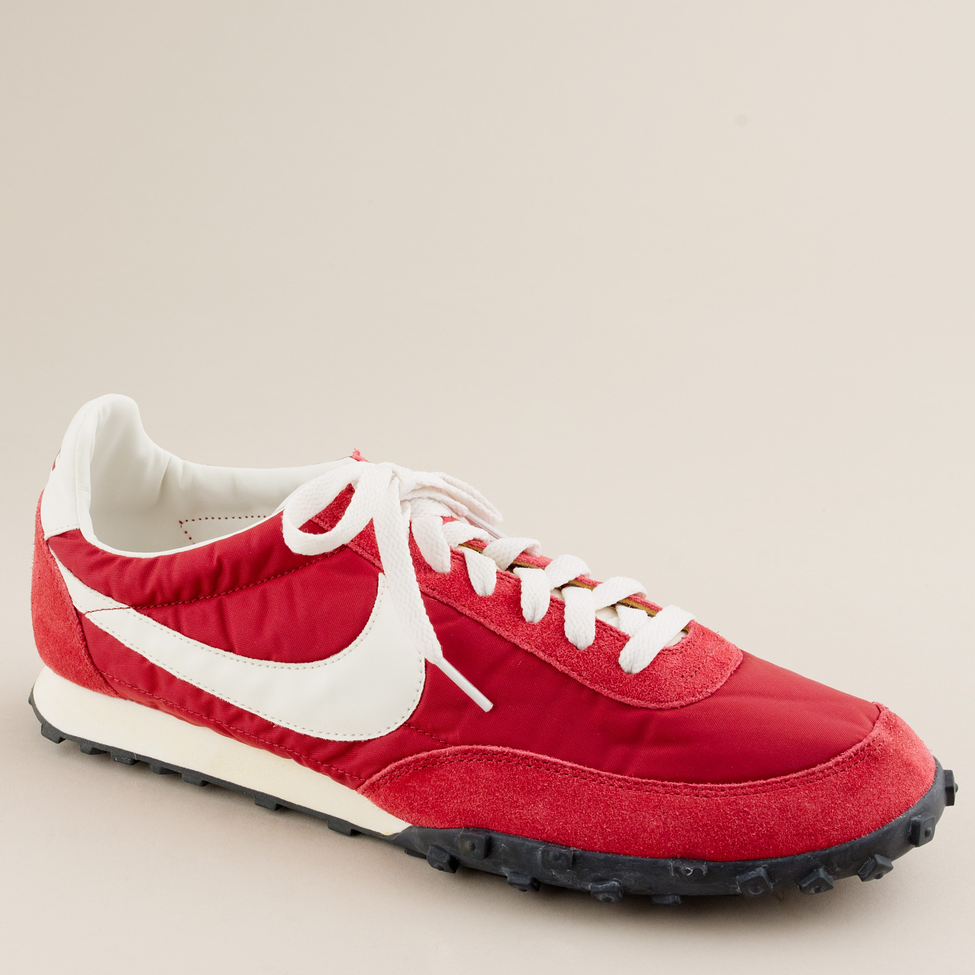 Lyst - J.Crew Nike® Vintage Collection Waffle® Racer Sneakers in Red ... 588ff9e51a