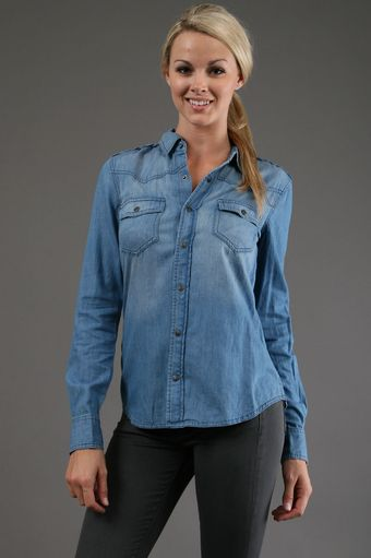 Joe's Jeans Sexy Western Shirt in Mia - Lyst