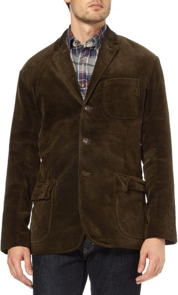 Polo Ralph Lauren Leede Corduroy Jacket In Brown For Men