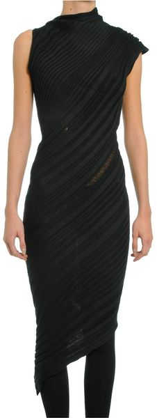 Todd Lynn Black Dress in Black - Lyst