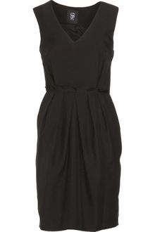 Co-op Barneys New York Pleat Waist Dress - Lyst