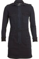 Isabel Marant Denim Dress - Lyst