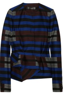 Proenza Schouler Striped Wool-blend Jacket - Lyst
