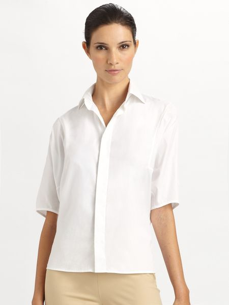Ralph Lauren Black Label Cotton Cornelius Shirt in White - Lyst