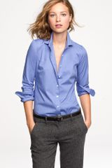 J.Crew Stretch Perfect Shirt - Lyst