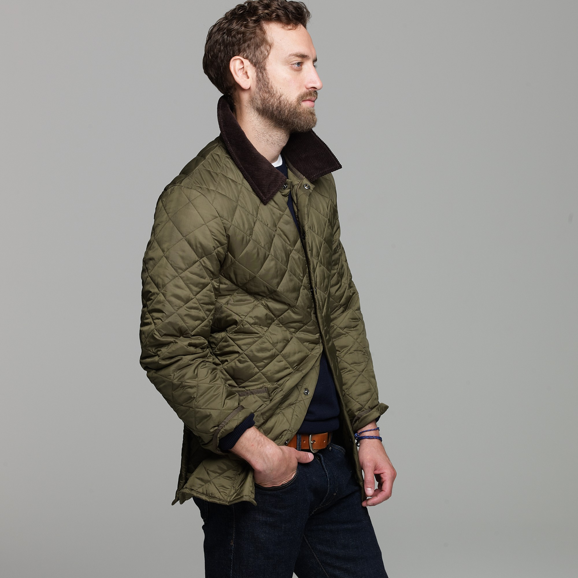 f245bc17c45ea Barbour Heritage Liddesdale Quilted Jacket Green chantalflorist.co.uk