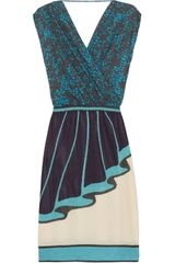 M Missoni Polka-dot Wool-blend Dress - Lyst