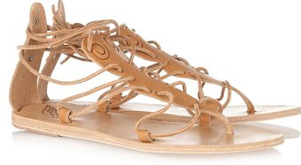 Ancient Greek Sandals Circe Ankle-strap Flat Leather Sandals - Lyst