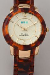 La Mer Collections Indo Lucite Watch - Lyst