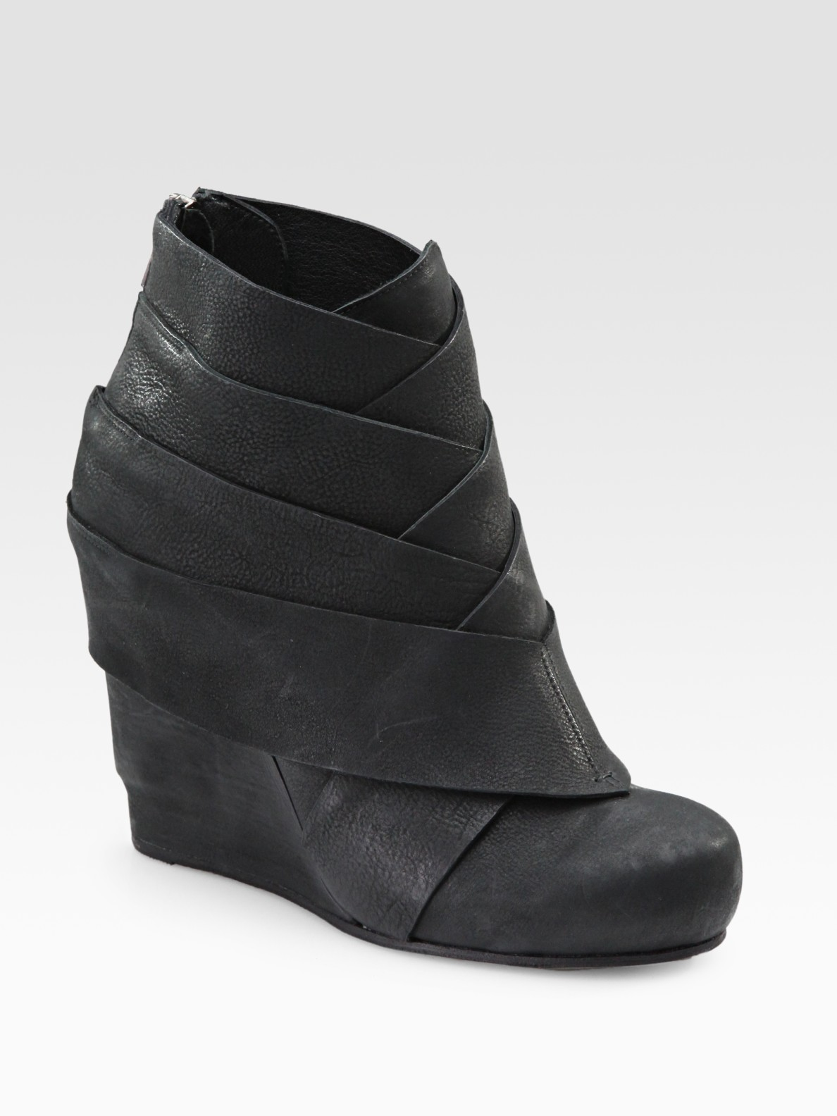 LD Tuttle Leather Wedge Ankle Boots for sale cheap price from china clearance finishline buy sale online sale eastbay outlet the cheapest sbJkHCVE