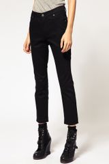 Cheap Monday Black Ankle Skinny Jean - Lyst