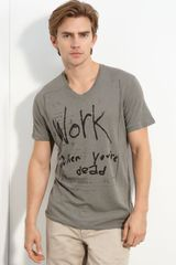 Rogan Printed T-shirt - Lyst