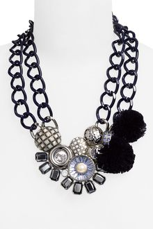 St. John Collection Bib Necklace - Lyst