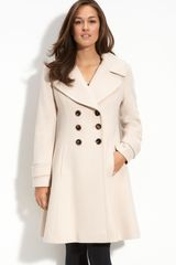 Fleurette Double Breasted Princess Coat - Lyst