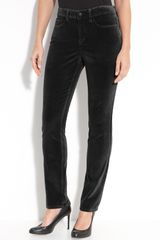 Not Your Daughter's Jeans Straight Leg Velvet Pants - Lyst