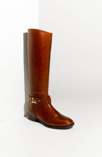 Tory Burch Leather Riding Boot (nordstrom Exclusive) - Lyst