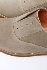 Vanishing Elephant Munchen Derby Slip On  Tan in Gray for Men (tan) - Lyst