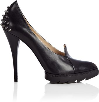 McQ by Alexander McQueen Studded Platform Pointed Court - Lyst