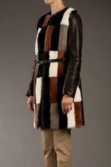 Msp Mink Fur Coat in Brown - Lyst