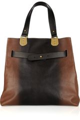 Christian Louboutin Sybil Reversible Leather and Calf Hair Tote - Lyst