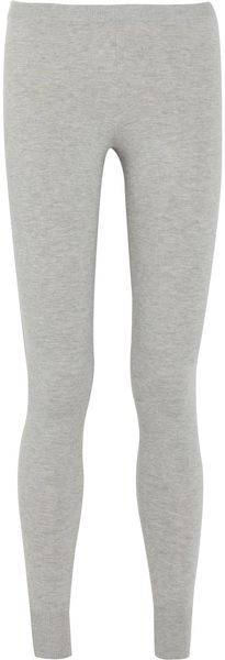 Donna Karan New York Stretch Cashmere-blend Leggings - Lyst