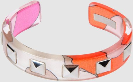 Emilio Pucci Bracelet in Orange - Lyst