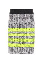 Giambattista Valli Striped Tweed Skirt - Lyst