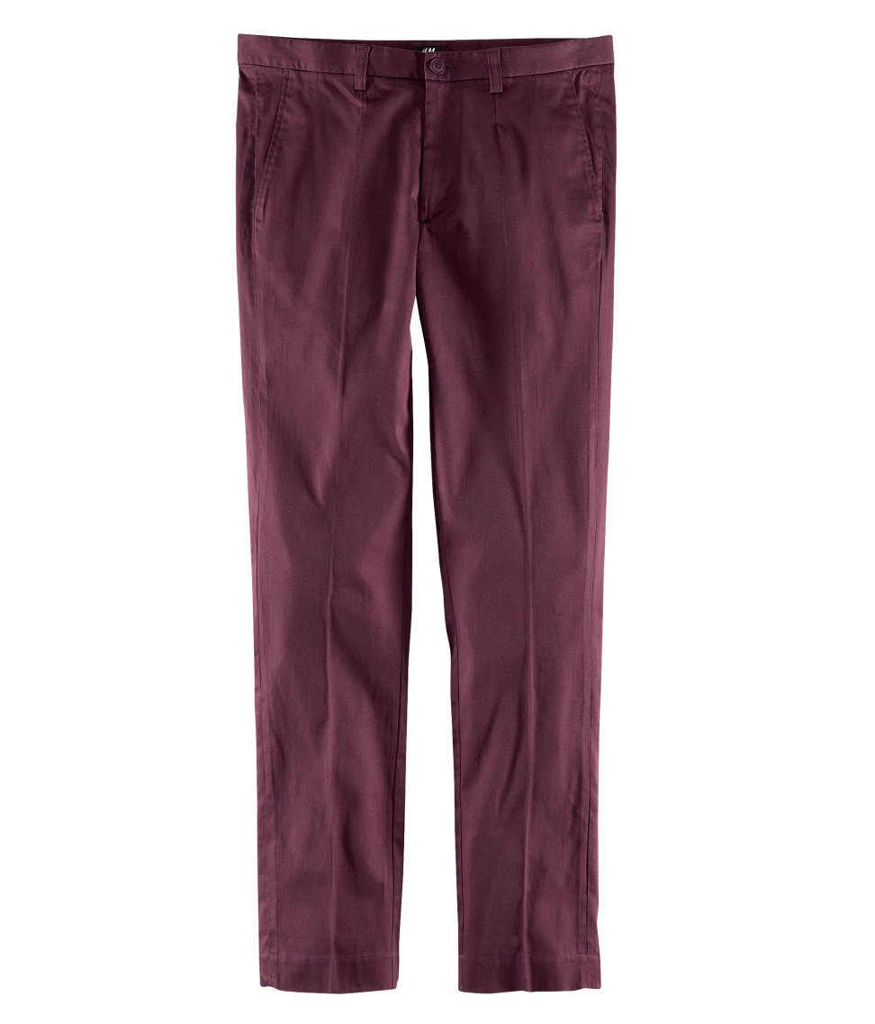 Shop for burgundy pants at whomeverf.cf Free Shipping. Free Returns. All the time.