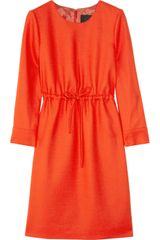 J.Crew Drawstring Wool Dress - Lyst
