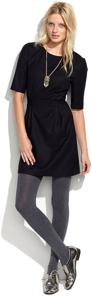 Madewell Tailored Shift Dress - Lyst
