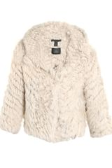 Marc By Marc Jacobs Rabbit Fur Jacket - Lyst