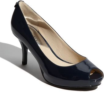 Michael by Michael Kors Flex Peep Toe Pump - Lyst